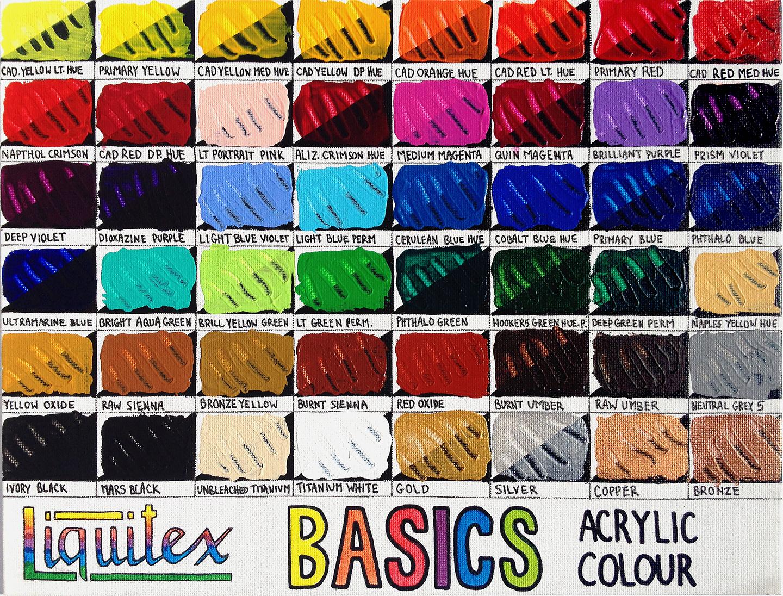 Liquitex basics nvjuhfo Image collections