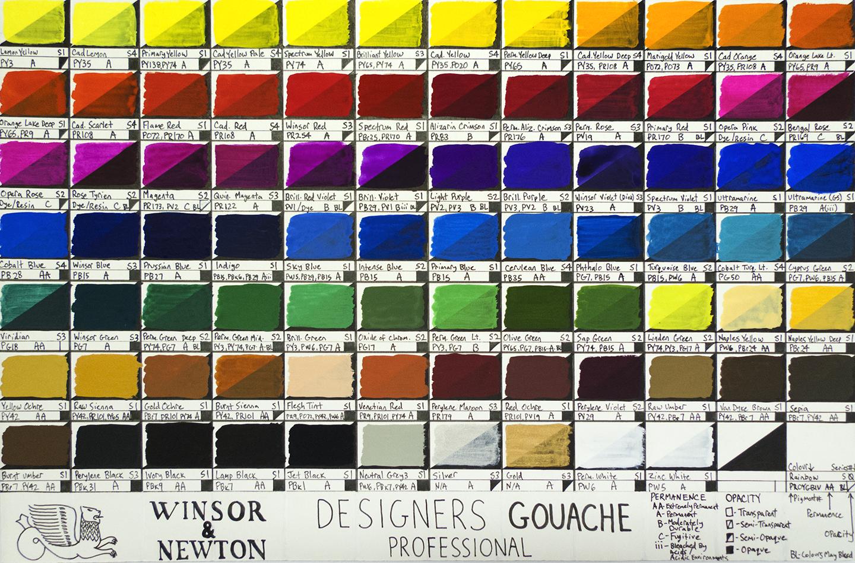 Winsor Newton Designer... Ivory Color Vs Off White